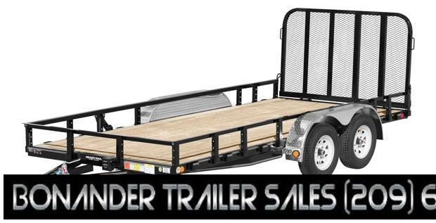 2021 PJ Trailers 16X83 Tandem Axle Channel Utility (UL) Utility Trailer