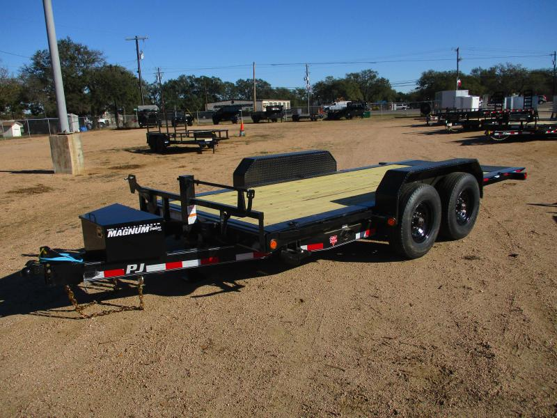 2021 PJ Trailers TJ 16 Equipment Trailer