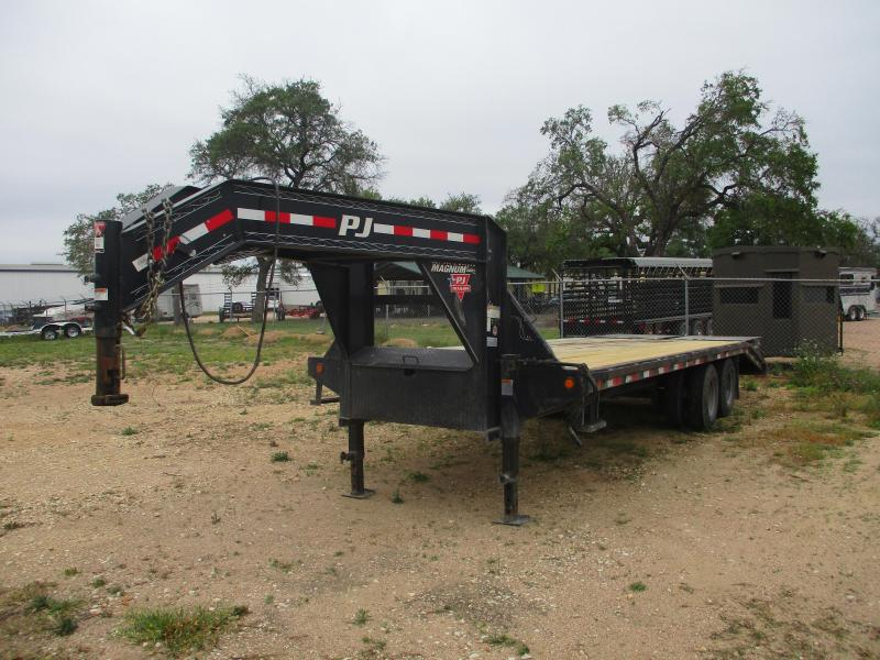 2018 PJ Trailers FD20+5 Flatbed Trailer