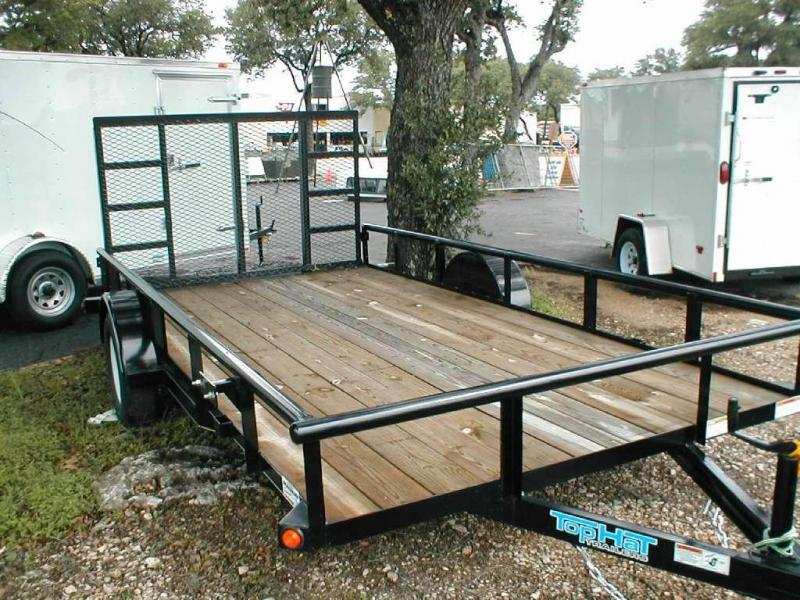 Top Hat Trailers 83X14DSP Utility Trailer