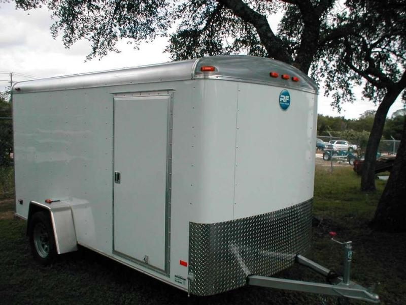 Wells Cargo RF610S2-R Enclosed Trailer