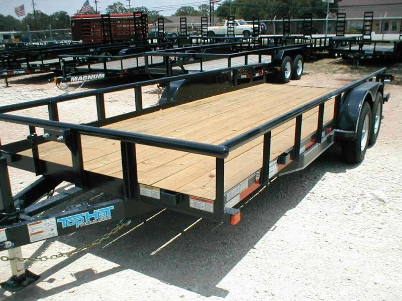 Top Hat Trailers 16HP10K Utility Trailer