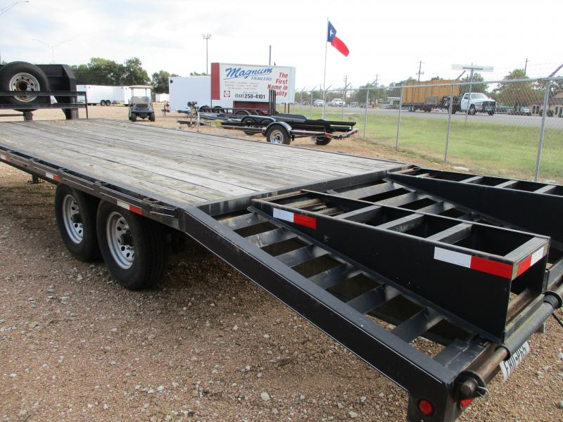 2013 Sure Pull Trailers 20+5x102 Flatbed Trailer