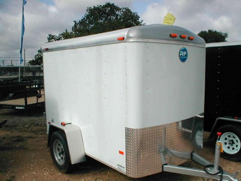 Wells Cargo RF58S2-R Enclosed Trailer