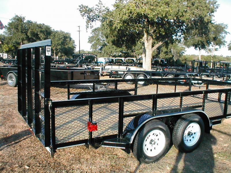 Top Hat Trailers 16RAX Utility Trailer