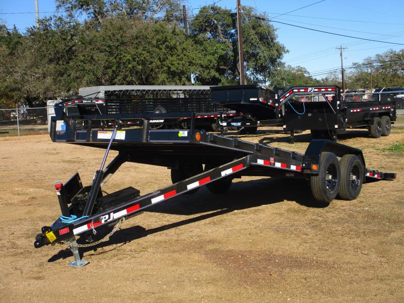 2021 PJ Trailers TH 22 Equipment Trailer