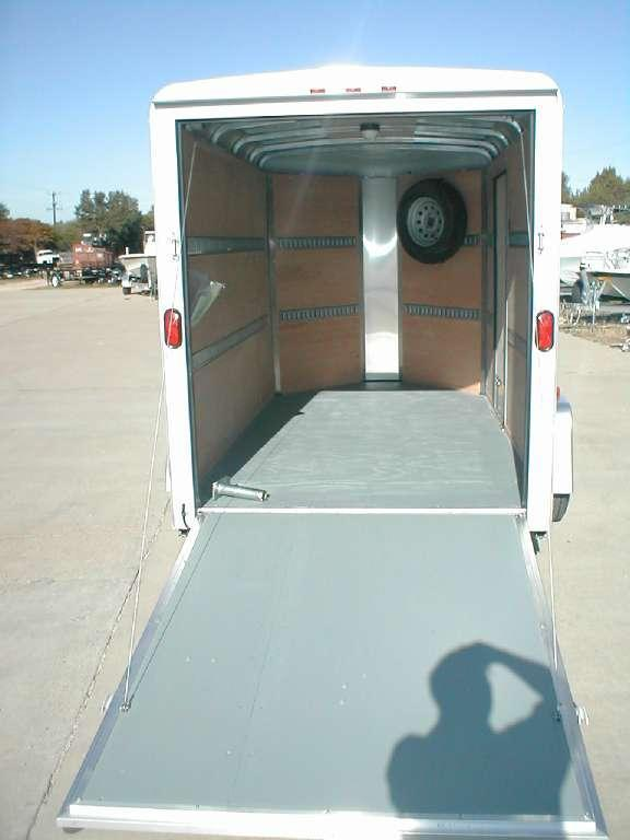 Wells Cargo RF612S2-R Enclosed Trailer