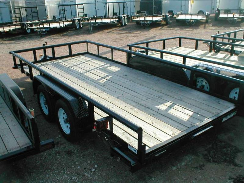 Top Hat Trailers 16EP Utility Trailer