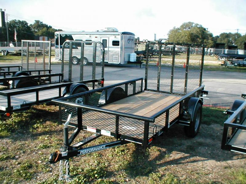 Performance Trailers SA6010 Utility Trailer