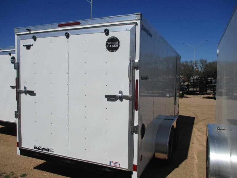 2021 Wells Cargo FT716T2 - D Enclosed Cargo Trailer