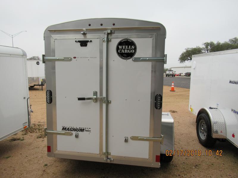 Wells Cargo RF58S2 Enclosed Trailer