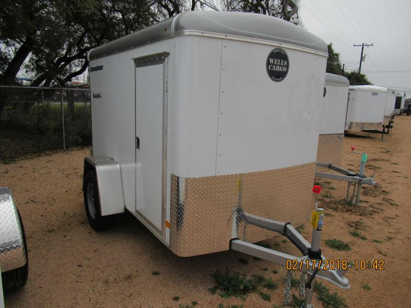 Wells Cargo RF58S2 Enclosed Trailer