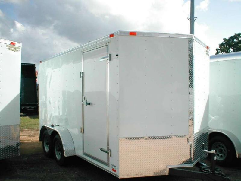 Continental Trailers VHW712TA2-R Enclosed Trailer