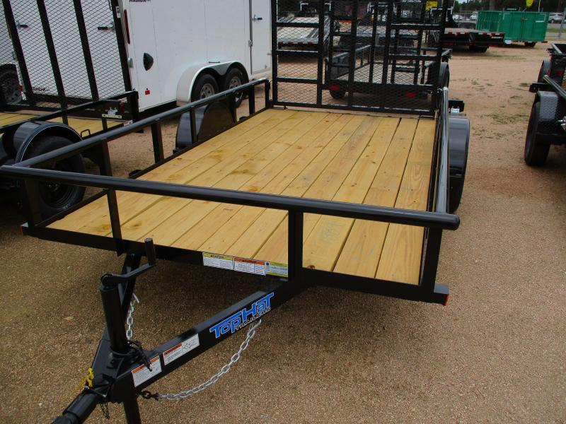 Top Hat Trailers 6.5X12DSP Utility Trailer