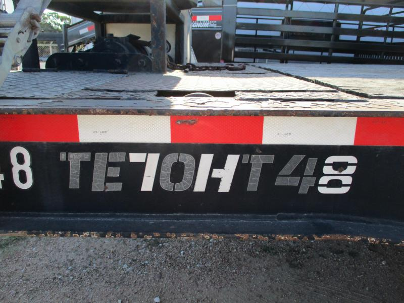 2004 TRAIL-EZE TE70HT48 Equipment Trailer