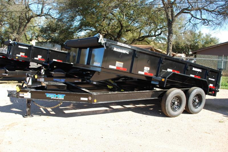 Top Hat Trailers 7x14DPX Dump Trailer