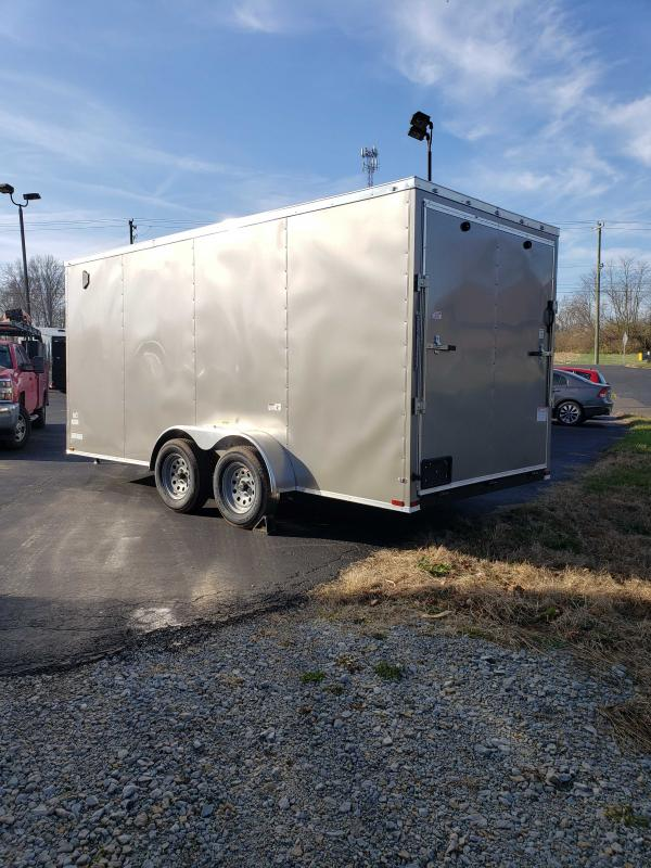2020 Quality Cargo 7X16 ENCLOSED Enclosed Cargo Trailer