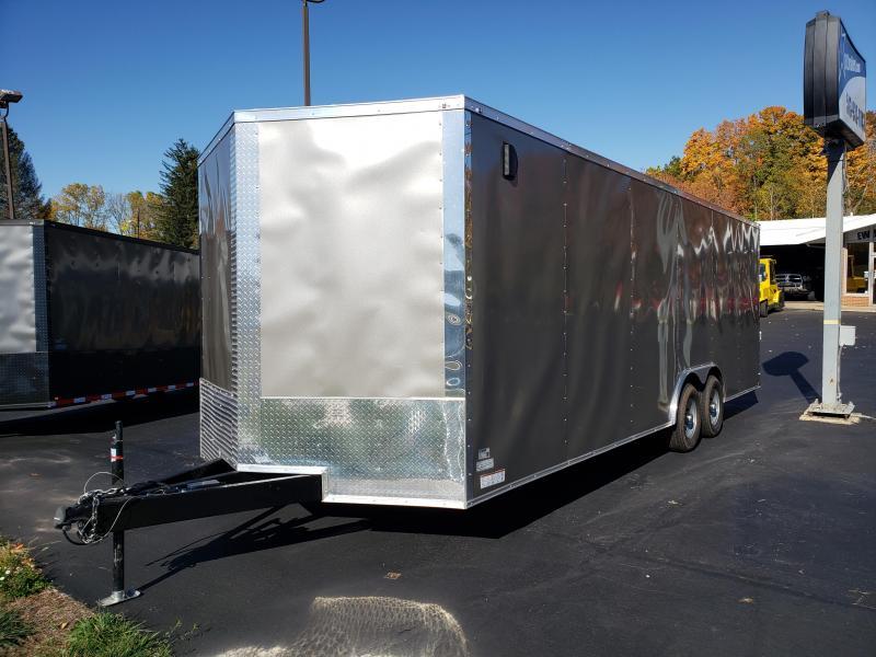 2020 Quality Cargo 8.5x24 TA3 Pewter Enclosed Cargo Trailer