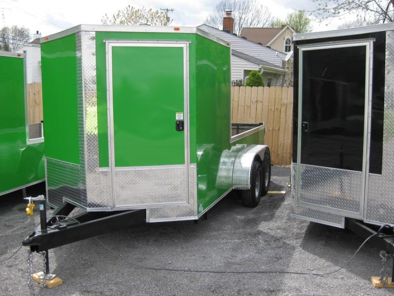 2018 Eagle Trailer 7x14TA3 Enclosed Cargo Trailer
