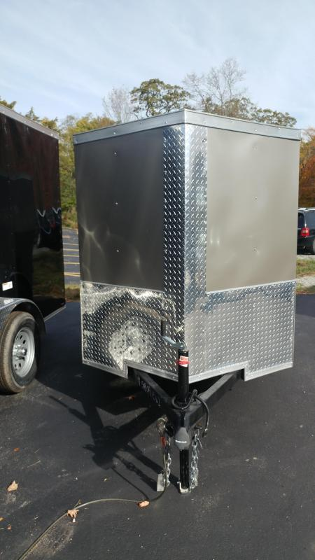 2020 Quality Cargo 6x10SA Enclosed Cargo Trailer