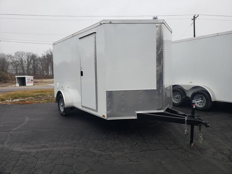 2021 Quality Cargo 7X12SA Enclosed Cargo Trailer