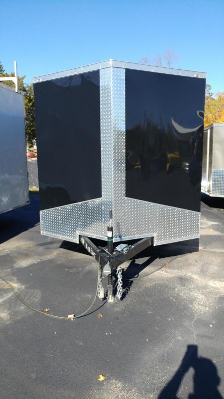 2020 Quality Cargo 7x16 TA BLACK Enclosed Cargo Trailer