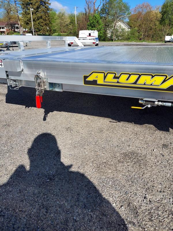 2022 Aluma 8216TILT-TA-EL-RTD Utility Trailer