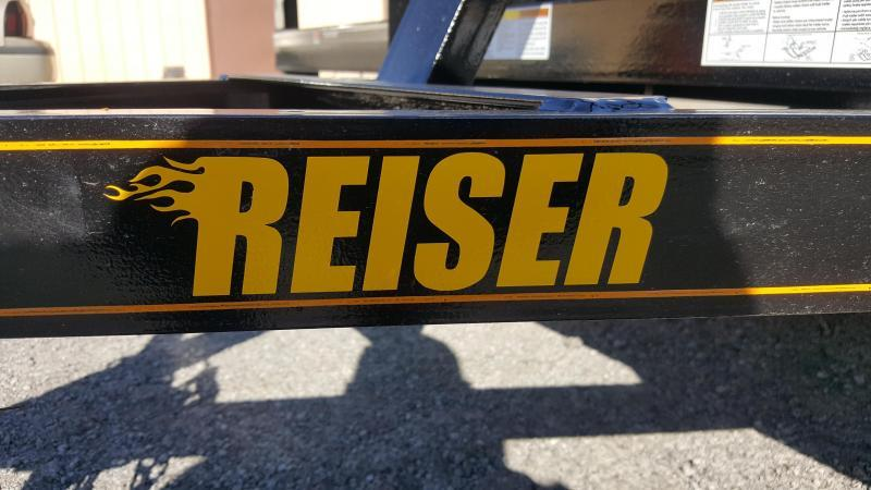 2021 Reiser Trailers L7714SA Flatbed Trailer