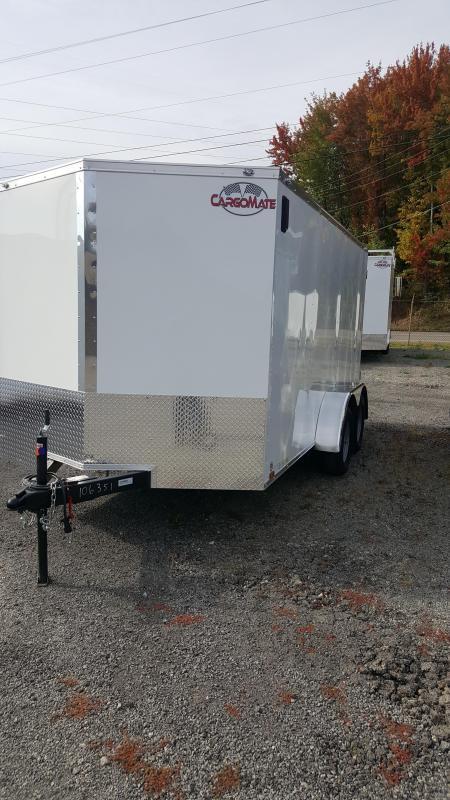 2021 Cargo Mate EHW 7/14 TA2 Enclosed Cargo Trailer