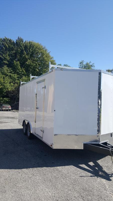 2021 Cargo Mate EHW8.518TA3 Enclosed Cargo Trailer