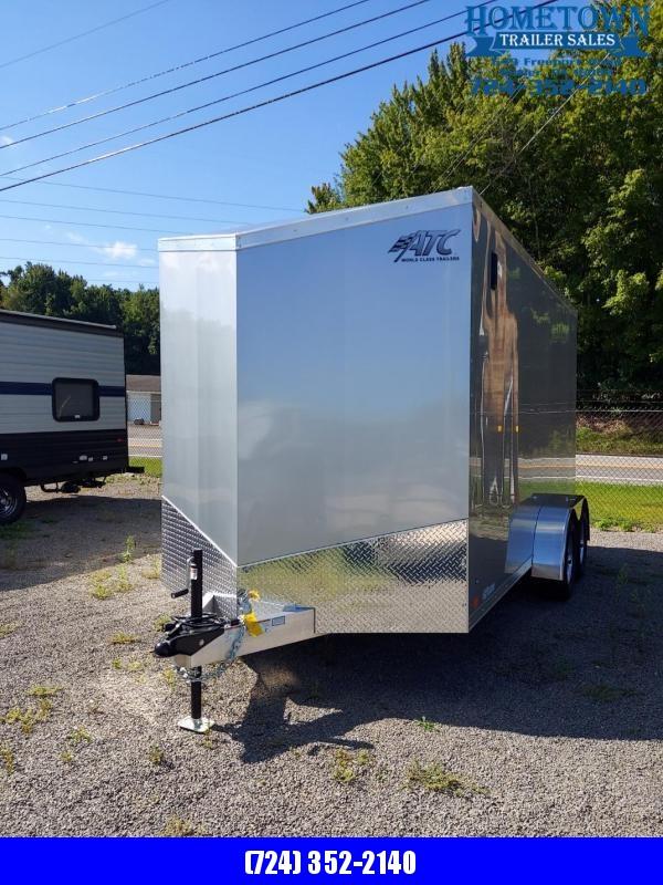 2022 ATC CGLAB7014+2-2T3.5K-7.0 Enclosed Cargo Trailer