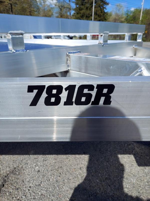 2022 Aluma 7816TA-EL-R-TR-RTD Utility Trailer