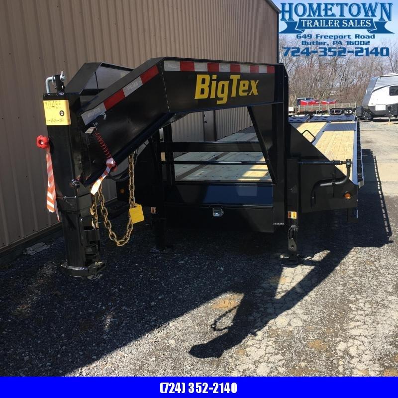 2019 Big Tex Trailers 22GN-25+5 Equipment Trailer