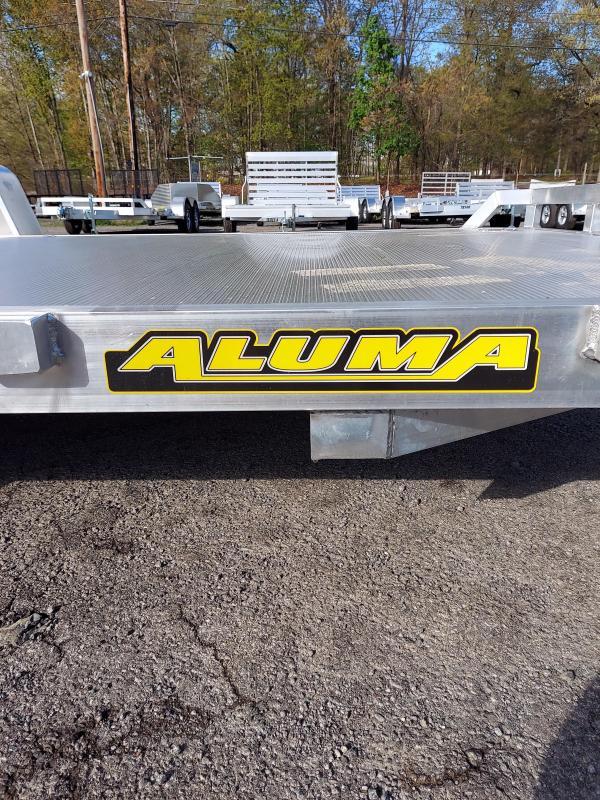 2022 Aluma 8214H-S-EL-R-RTD Utility Trailer