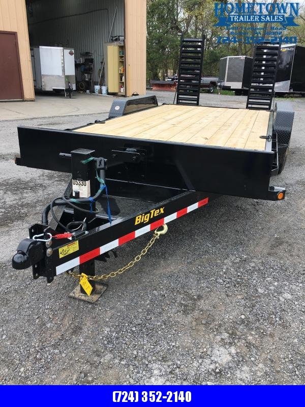 "2020 Big Tex Trailers 83"" x 15'+3'"
