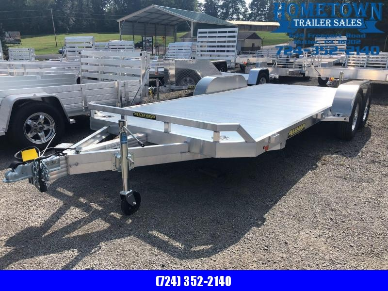 "2019 Aluma (6'10"" x 18')  Model  8218B Tandem Axle Car Hauler"