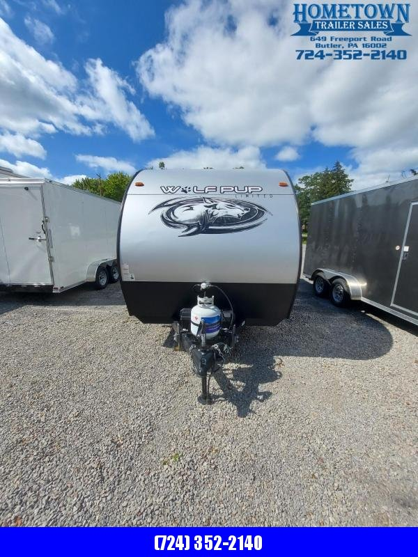 2020 Forest River Inc. Wolf Pup CKT16BHS-OR LIMITED Travel Trailer RV