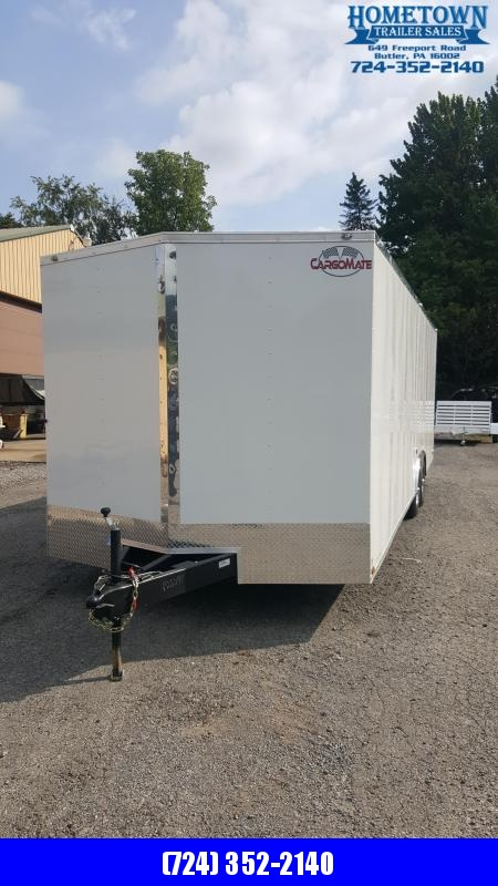 2021 Cargo Mate EHW 8.5X26 TA3 Car / Racing Trailer