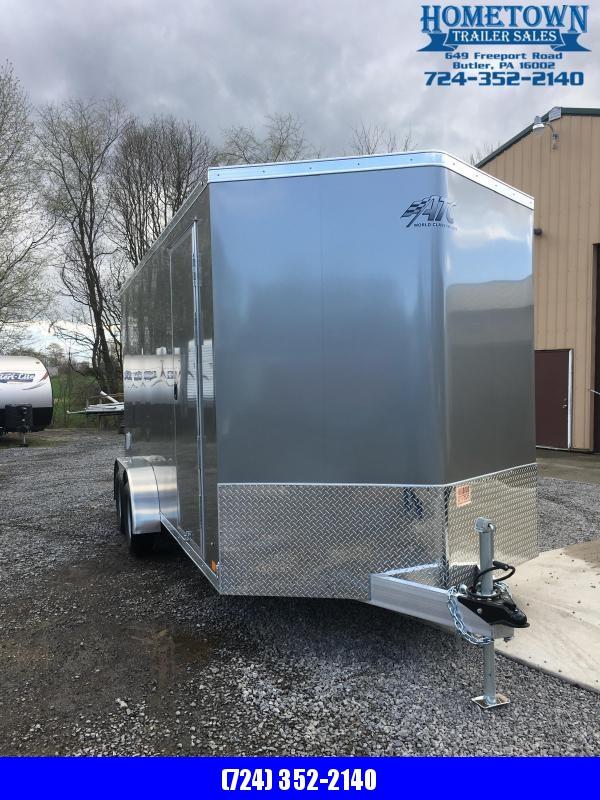 2019 ATC 7x16 Enclosed Cargo Trailer