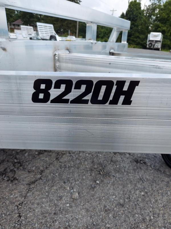 2022 Aluma 8220H-TA-EL-R-DT-RTD Utility Trailer