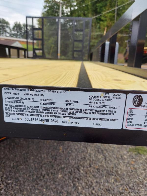 2022 Reiser Trailers L1610K Utility Trailer