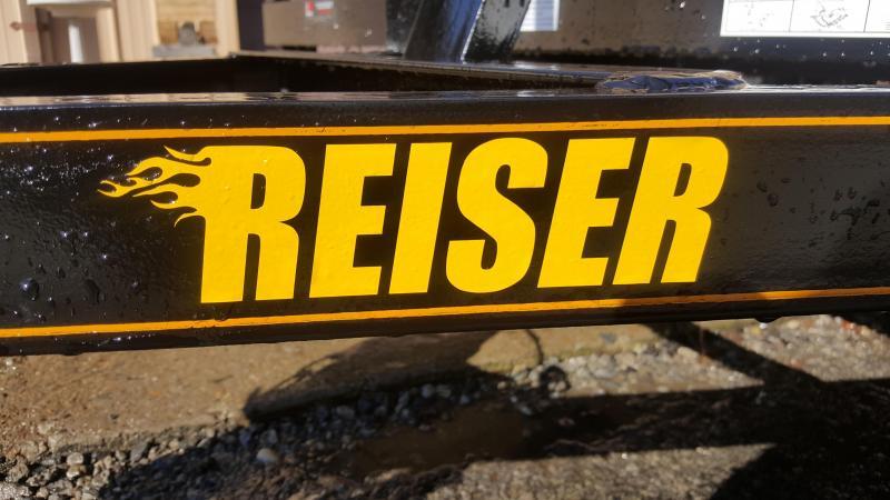 2021 Reiser Trailers L7712SA Flatbed Trailer