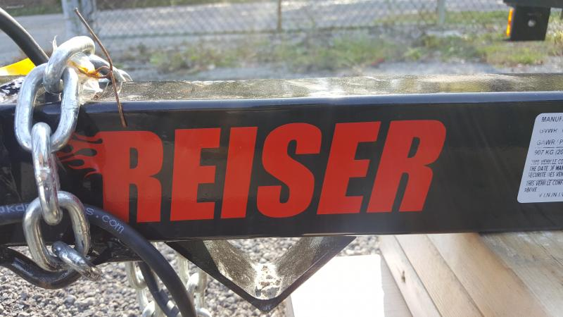 2021 Reiser Trailers 58 ECONOMY Utility Trailer