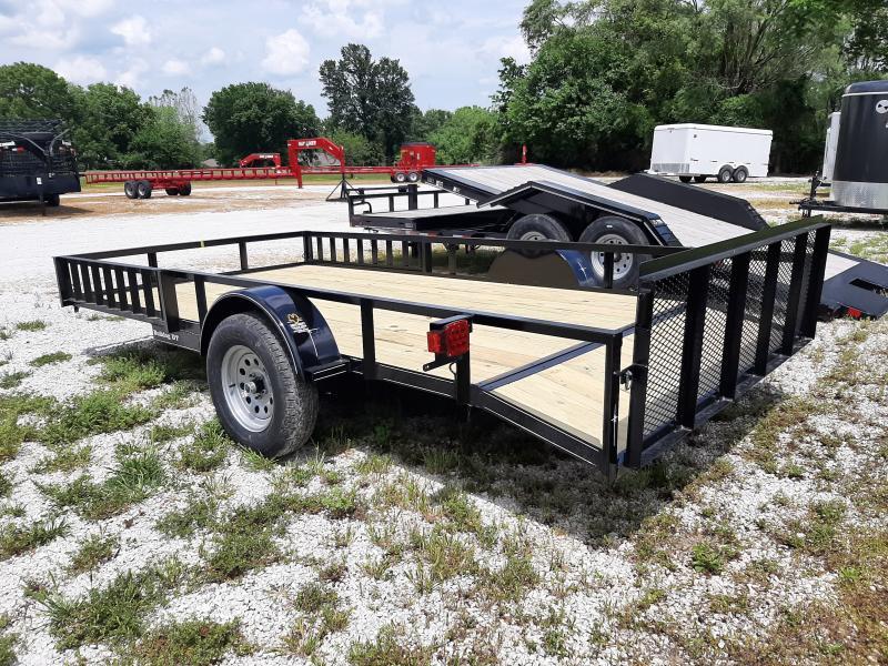 Bulldog 82 x 12+2 Dovetail Black ATV Utility Trailer