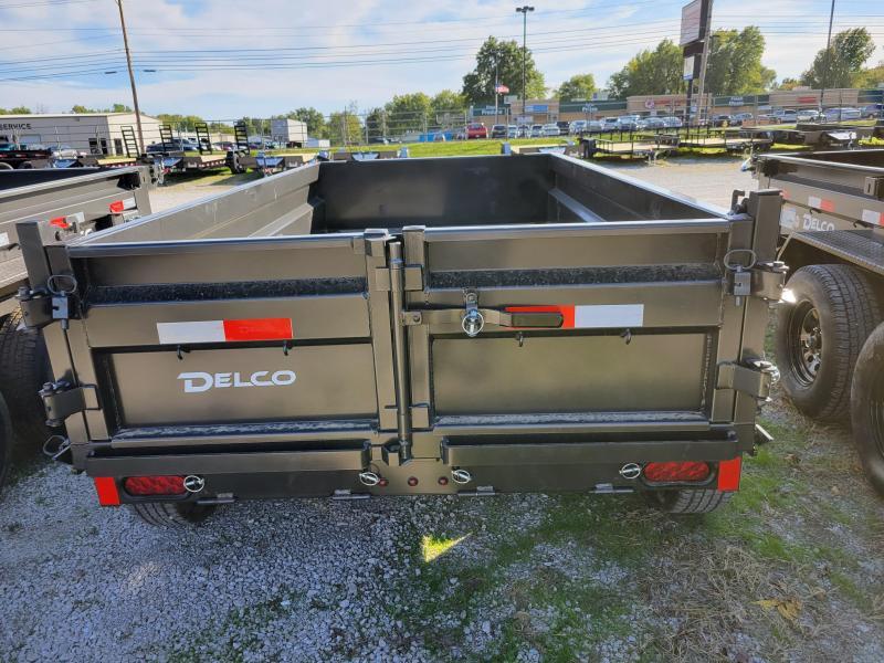 Delco 60 x 10 Bumper Pull 7000# Dump Trailer