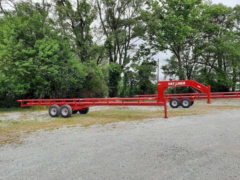 32'  Hay Liner Gooseneck Hay Trailer