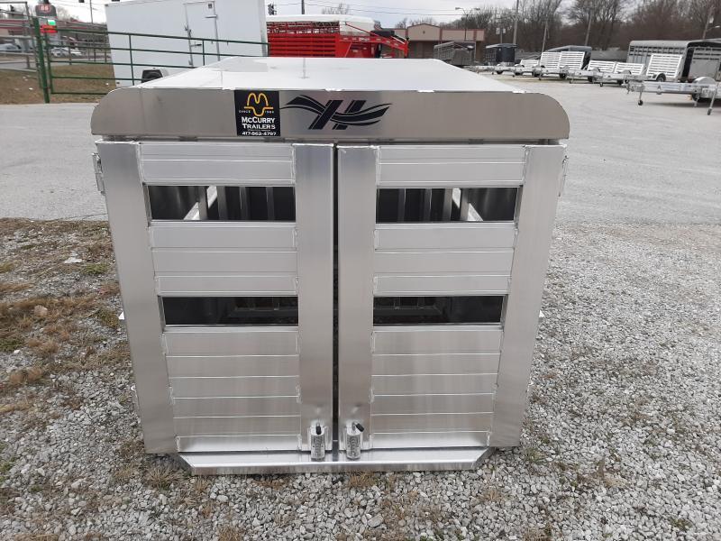 Hillsboro Industries 44 x 60 Aluminum Stock Box Truck Boxes (Livestock and Dog)