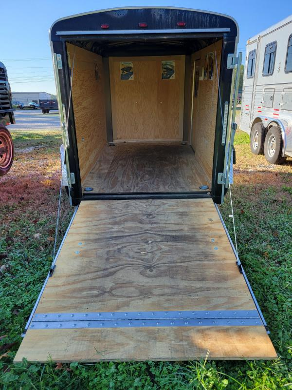 USED 2015 Interstate 5' x 8' Enclosed Cargo Trail Enclosed Cargo Trailer
