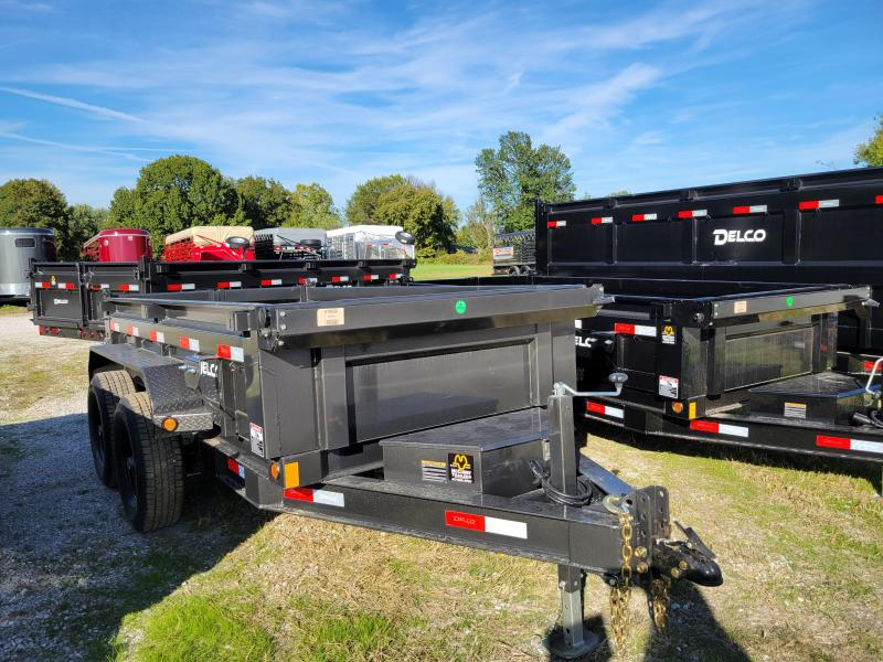 Delco 60 x 10 Bumper Pull 12000# Dump Trailer