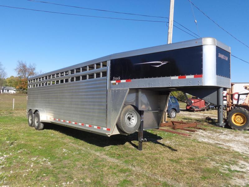 USED 2020 Travalum 24 x 6'8 Livestock Trailer